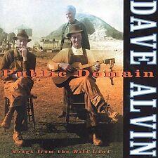 PUBLIC DOMAIN BY DAVE ALVIN (CD, Aug-2000, Hightone)