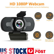 1080P Full HD USB Webcam  / For PC Desktop Laptop Web Camera With Microphone