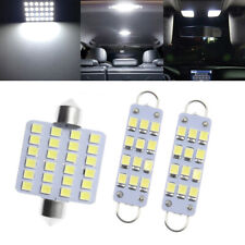 1 Set Car Interior Map Dome Light Lamp 12V 6000K White LED Bulb Car Accessory df