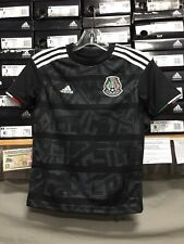 db54ee8c917 adidas Mexico Black Jersey Playera De Mexico Juvenil 2019 Size Youth XL Only