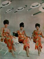 THE SUPREMES 1966 YOU CAN'T HURRY LOVE TOUR CONCERT PROGRAM BOOK / DIANA ROSS