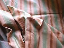 Vintage Dovedale Cotton Chintz Interiors Fabric Striped Effects11 'Epsom'