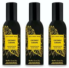 Bath & Body Works COCONUT CABANA Concentrated Room Spray Fragrance x 3 Lot