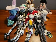 More details for the nightmare before christmas disney store assorted plush collection