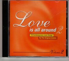 (GT580) Love Is All Around Vol 2, 18 tracks various artists - 1995 CD