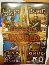 (NEW SEALED) LEGENDS OF THE WORLD PC WINDOWS MAC VIDEO GAMES