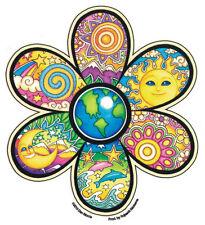 Earth Flower - Bumper Sticker / Decal