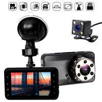 170 ° double objectif caméra HD 1080p voiture DVR vidéo Dash Cam enregistreur G