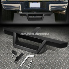 "FOR 2"" RECEIVER UNIVERSAL 32.5""X 2.25"" BLACK TRAILER TOW HITCH STEP BAR+PIN&CLIP"