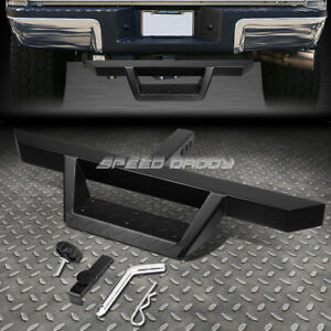 """FOR 2"""" RECEIVER UNIVERSAL 32.5""""X 2.25"""" BLACK TRAILER TOW HITCH STEP BAR+PIN&CLIP"""