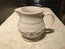 Longaberger Pottery Traditional Red Small Pitcher