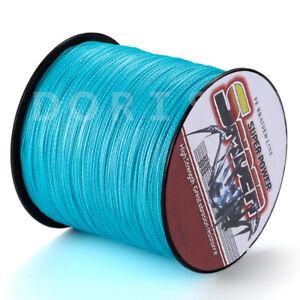 Spider Braid 100m-1000m 10LB~100LB Blue Braided Fishing line Dorisea line