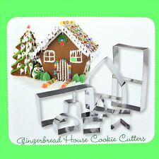 Gingerbread House Cookie Cutters Set of 7
