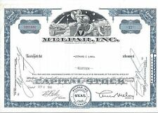 MELPAR INC.......1960 STOCK CERTIFICATE