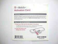 T-Mobile Starter Kit With $0 airtime Activation Code Only (NO SIM).