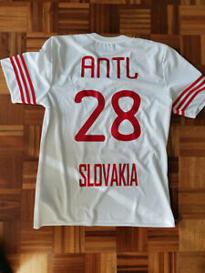 RADOSLAV ANTL Match Worn Jersey SLOVAKIA National team