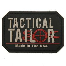 Tactical Tailor PVC Morale Patch Velcro