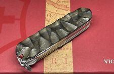 Couteau Suisse Victorinox Deluxe Tinker Custom Manche En Ébène Royal