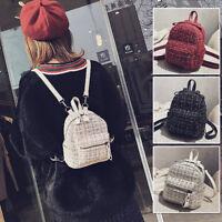 Convertible Small Mini Crocheted Backpack Rucksack Daypack Shoulder Bag Purse