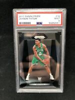 2017-18 Panini Prizm #16 Jayson Tatum Boston Celtics RC Rookie PSA 9 MINT AC87