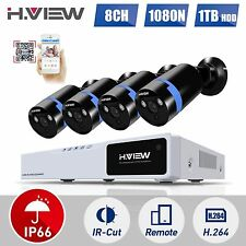 Home CCTV Security Camera System 8CH HDMI 1080N DVR Kit 2.0MP Outdoor Camera 1T