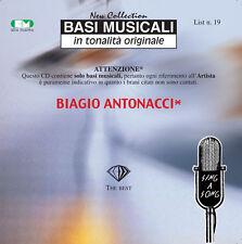 """BASI MUSICALI """"BIAGIO ANTONACCI"""" VOL.19"""