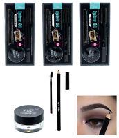 Waterproof Eye Brow Eyeliner Eyebrow Gel & Pen Pencil Makeup Cosmetic Tool 24 Hr