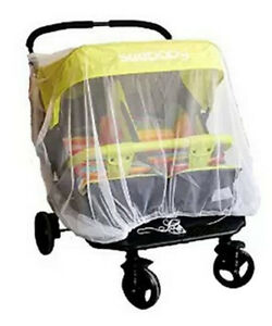 twin Stroller Mosquito Net For Pram Protector Fly Midge Insect Bug Cover Infa^dm