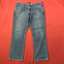Dockers Mens Size W42 L34 Jeans Blue Denim Pants Straight Classic Casual