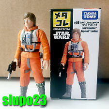 Takara TOMY ~ Star Wars #06 Luke Skywalker Dagobah Landing Mini Metal Figure