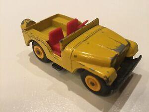 1960s Matchbox #72 Jeep