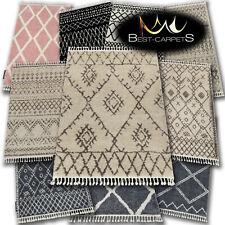 "AMAZING original Modern thick SHAGGY Rugs ""BERBER"" 18 Patterns etno BEST-CARPET"