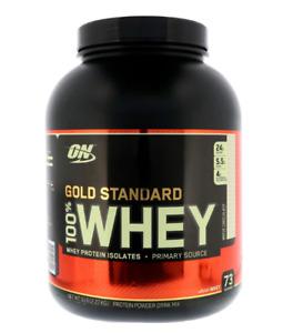 Optimum Nutrition, Gold Standard 100% Whey - Choose Flavor - ̀5Lbs - Free ship