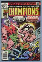 Champions #12 (Mar 1977, Marvel) [Goliath, Stranger, Ghost Rider] Mantlo Byrne /