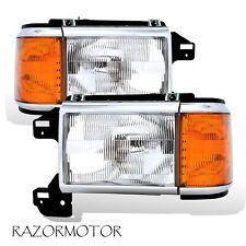 1987-91 Replacement Headlight/Corner Pair For Bronco F-Series Truck w/Bracket