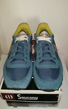 Saucony JAZZ LOWPRO 2866-26 Mens Dark turquoise/yellow Lace Up