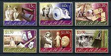 More details for norfolk island 2011 mnh museum artefacts part ii 6v set dolls museums stamps