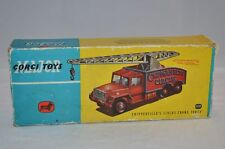 Corgi Toys 1121 Chipperfield Crane empty box original box with packing and paper