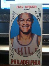1969-70 Topps Basketball Philadelphia 76ers Hal Greer #84