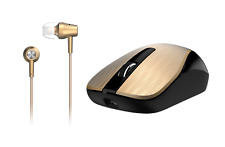 Genius Wireless Smart Mouse & in-Ear Headset Combo (MH-8015)