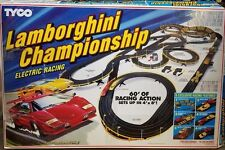 Tyco Lamborghini Championship Electric Racing HUGE Extra Original Box Vintage