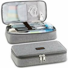 Homecube Pencil Case Big Capacity Pen Box School Desk Organizer Bag with Zipper
