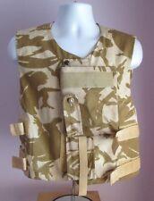 VTG Mens European Beige Desert DPM Camo Body Armour Size Small