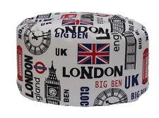 POUF BEAN BAG TONDO PER INTERNO SFODERABILE LONDON