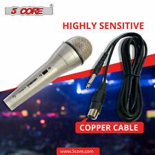 5 Core Dynamic Microphone for Karaoke Compatible with Karaoke Machine MM-401