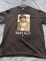 Supreme Nasty Nas Tee FW17 Black Size M 100% Authentic.