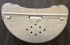 Vintage Fishing Belt Nightcrawler Aluminum Worm Bait Holder FishingTackle Box
