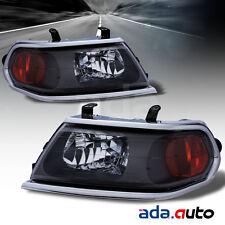 2000-2004 Mitsubishi Montero Sport OE Chrome Headlights Left Right Set