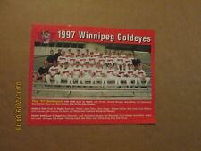 Winnipeg Goldeyes Vintage Circa 1997 Logo Baseball Team Photo