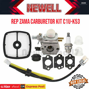 Replace ZAMA Carburetor C1U-K53 FOR ECHO SRM 2015 2305 2455 AT203A Carb Trimmers